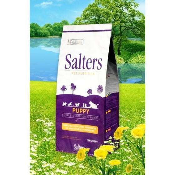 Salters Puppy Food, Puppy food, Salters Pet Nutrition, Need Not Lift A Paw Limited