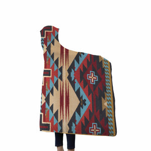 Native American Hooded Blanket