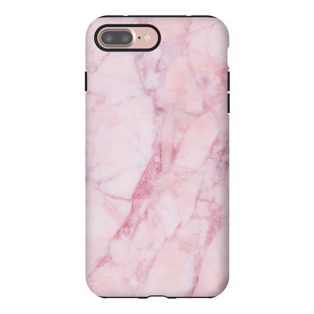 Pink Marble iPhone Tough Case