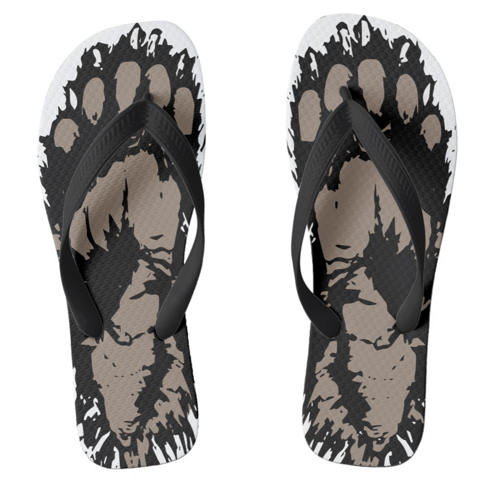 Bigfoot Flip Flops