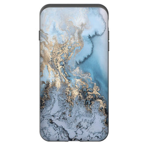 iPhone Gold Marble Case