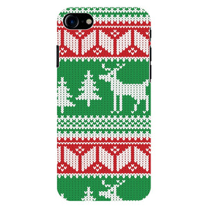 Apple iPhone Nordic Knit Christmas Sweater iPhone Tough Case