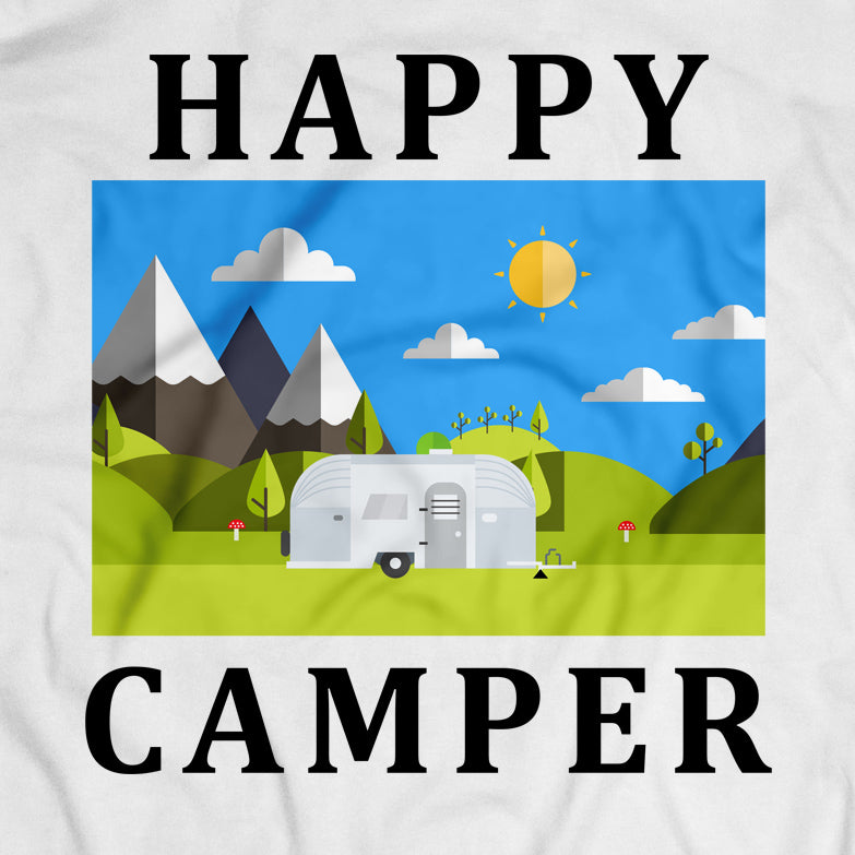 vintage happy camper