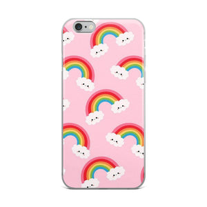 Rainbow Pink iPhone Case