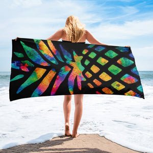 Neon Pineapple Towel