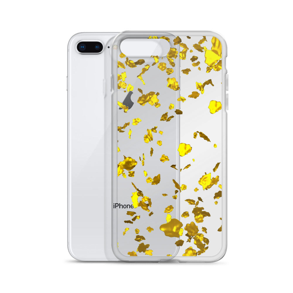 Gold Flake iPhone X Case