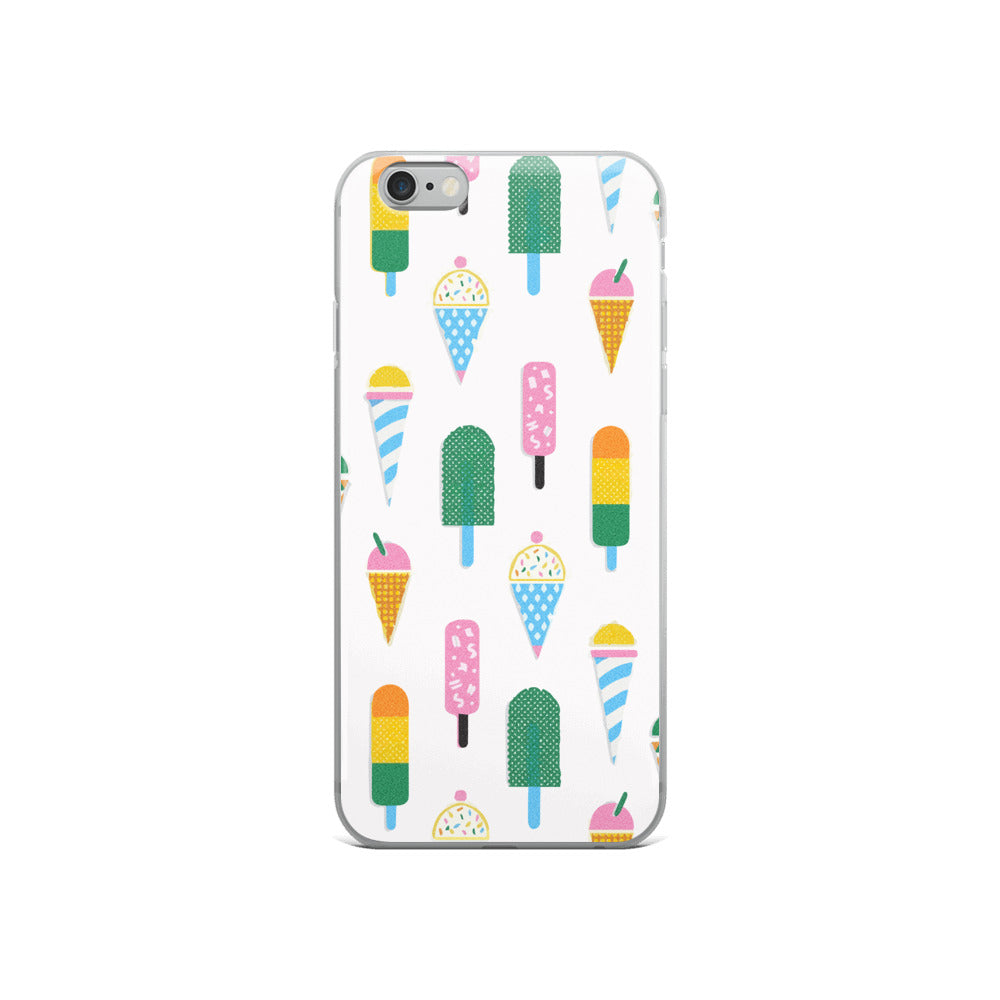 Ice Cream and Popsicle iPhone Case