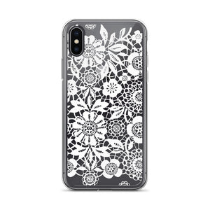 White Lace iPhone Case