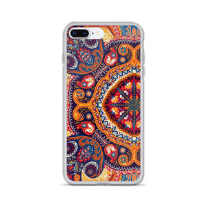 Bohemian Paisley Phone Case for iPhone