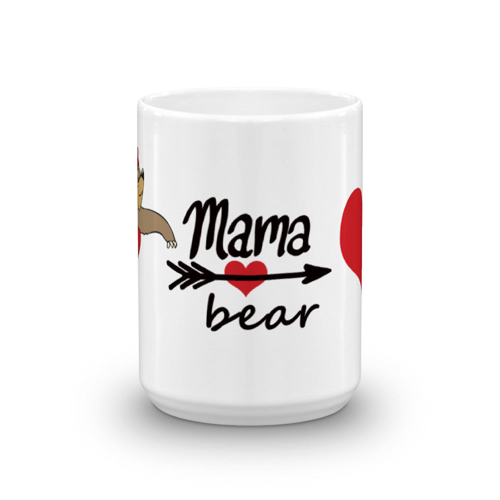 Mama Bear Big Heart Mug