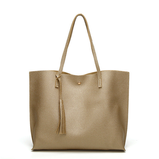 Soft Luxurious Vegan Leather Handbag