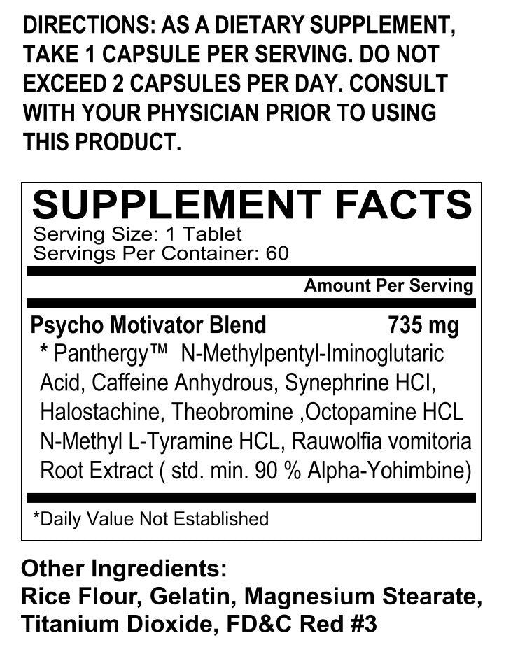 Psycho Pharma Far Beyond Driven - SupplementsMax