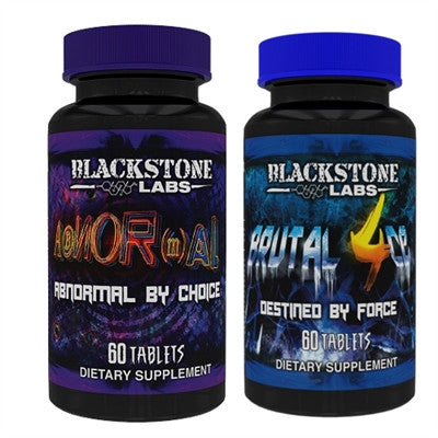 Blackstone Labs Abnormal & Brutal 4ce Stack