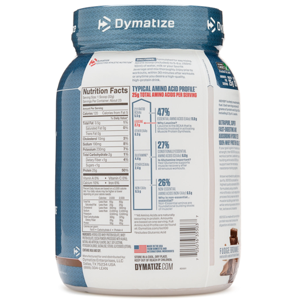 ברצינות Dymatize iso-100 1.6 lb - SupplementsMax KY-81