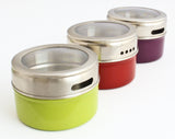Magnetic Spice Container Tins - 3 Pack