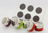 Magnetic Spice Set Rack, Seasonings Containers and Condiments Set