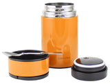 Vacuum Insulated Stainless Steel 25oz Food Jar & Thermal Crockpot Cooker - Recipe Included