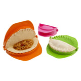 3-Piece Dough Press Set - Dumpling Calzone Ravioli Empanada Turnover Pierogi