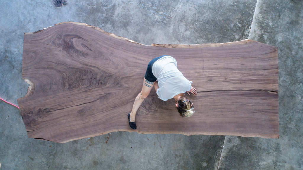 claro walnut slab