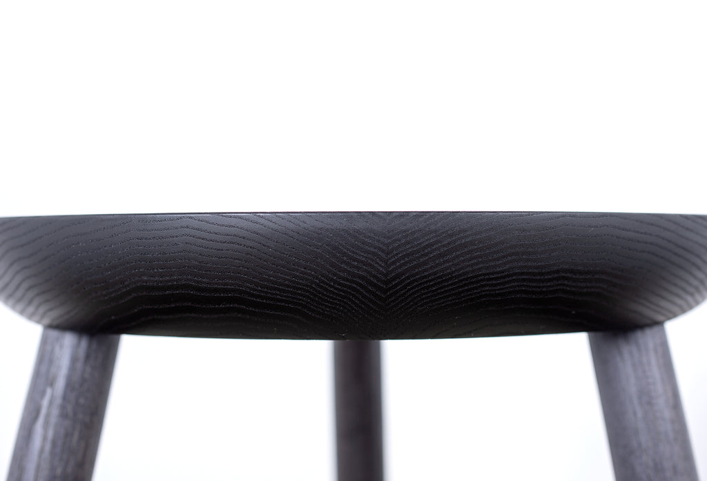 BLACKENED SIDE TABLE