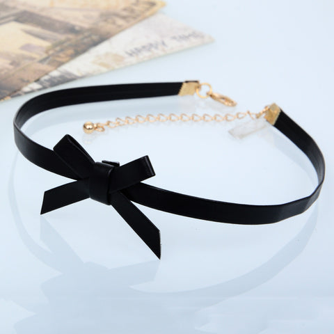 Punk and Cute Bowknot Choker