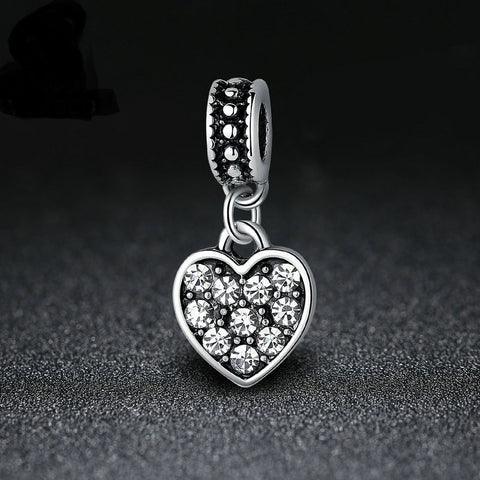 Diamonds Hearts Pendant
