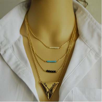 Arrow - Multilayer Necklace