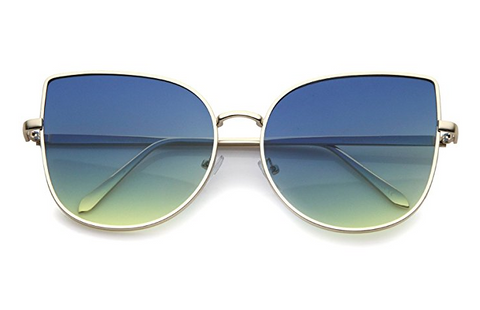 Blue and Green Ocean Sunglasses