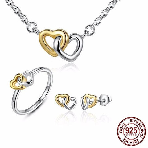 Set Heart to Heart Jewelry
