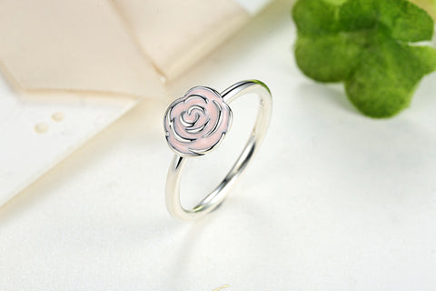 Rose Garden Stackable Ring Pink