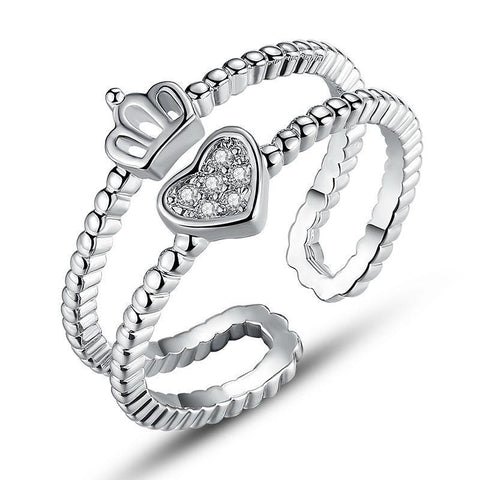 Heart Shape Finger Ring