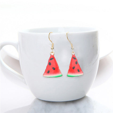 Fruit Avocado Earrings