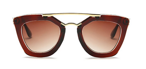 Red Wine - Round Sunglasses