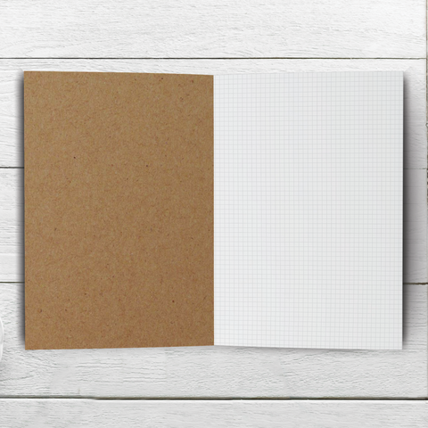 3mm Grid Notebook - 20, 30, 40, or 50 pages