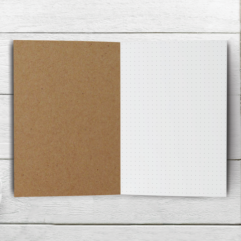 Dot Grid Notebook - 20, 30, 40, or 50 pages