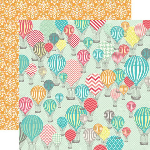 Hot Air Balloons: Folder or Dashboard for Traveler's Notebook