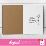Printable Online Shopping Tracker Notebook (Digital Download)
