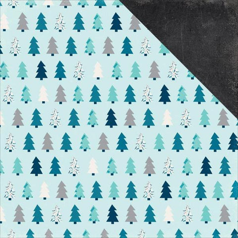COVER UPGRADE: Winter Pines (Double Sided)