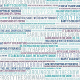 COVER UPGRADE: Wintery Words (Double Sided)