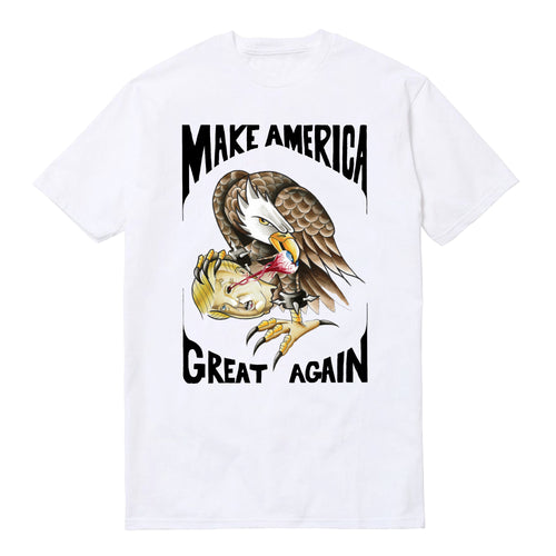 MAKE AMERICA GREAT AGAIN SHIRT - WHITE