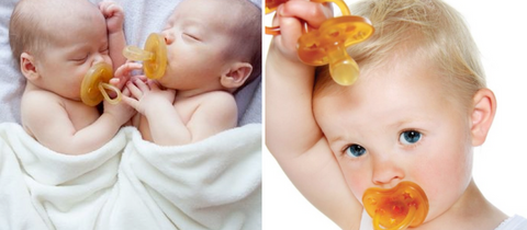 Natural Rubber Soothers/Pacifiers