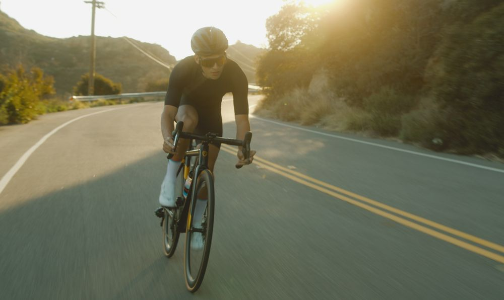 Cycling is an aerobic exercise