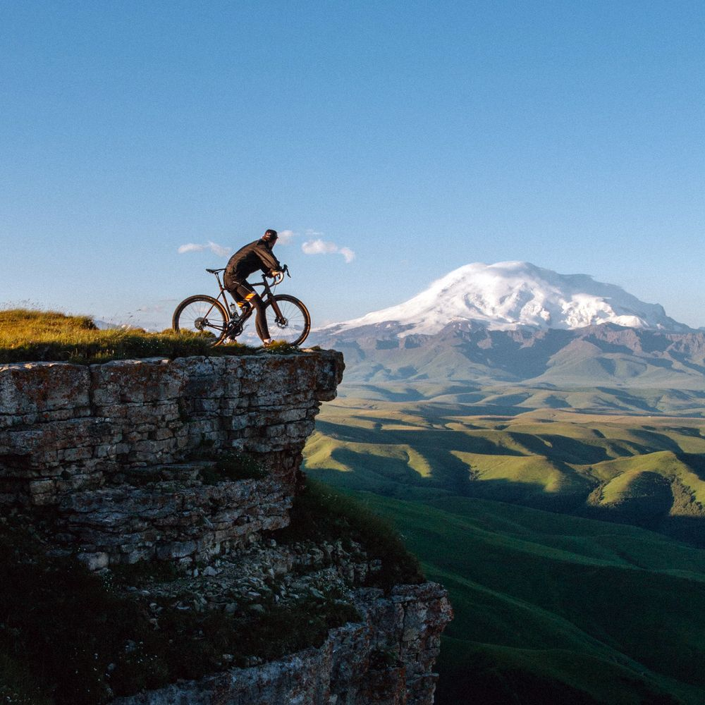 Cycling in the mountains