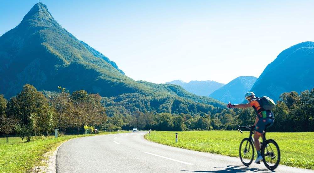 Cycling helps you feel good