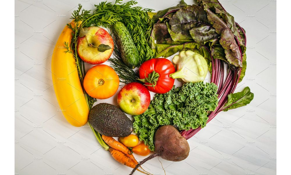 Fruit and vegetables for cycling