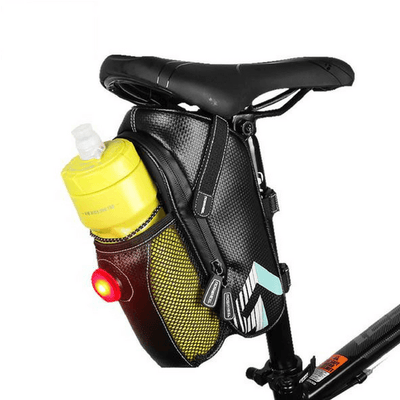 Bicycle Booth Bicycle Storage 3 in 1 LED Saddle Bag