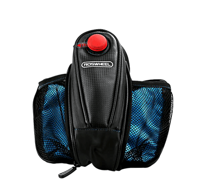 Bicycle Booth Bicycle Storage Double Aqua LED Saddle Bag