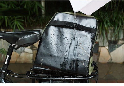 Bicycle Booth Bicycle Storage ROSWHEEL 3 in 1 Bicycle Pannier