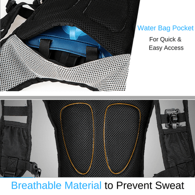 Bicycle Booth Bicycle Storage ROSWHEEL Hydration Backpack