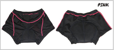Bicycle Booth Black with Pink Cycling Short